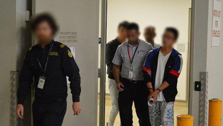 Lima Calo Tenaga Kerja Asal China dan Malaysia Ditangkap di Perth