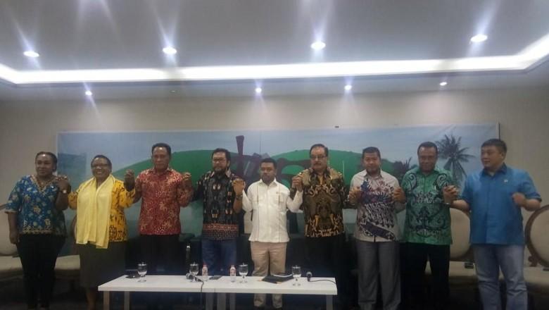 21 Perwakilan Papua di Parlemen Bentuk Badan Komunikasi