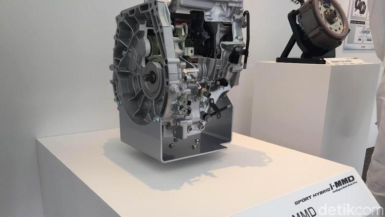Sistem hybrid i-MMD Foto: Nugroho Tri Laksono