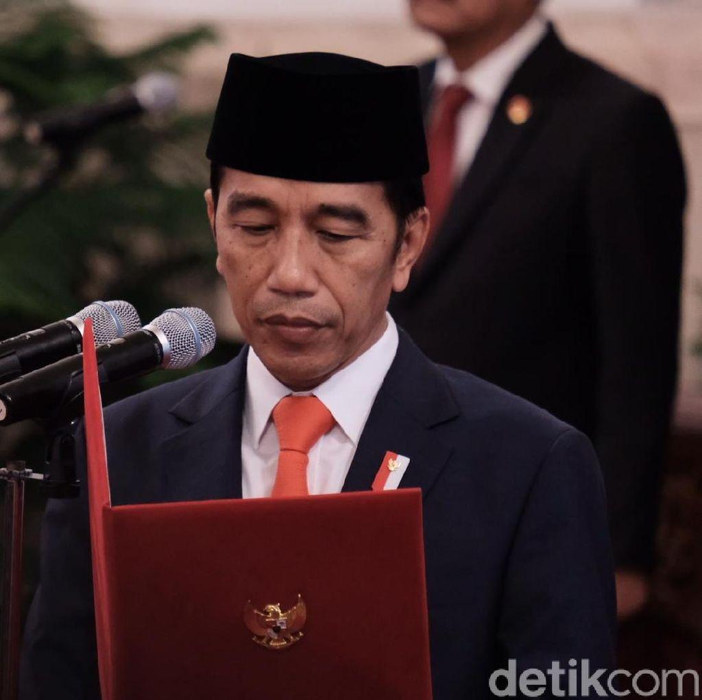 Formasi Lengkap Pembantu Jokowi: Menteri hingga Stafsus