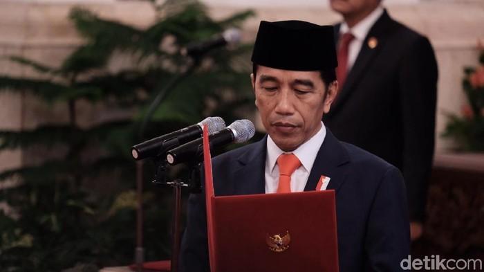Foto: Presiden Jokowi (Andhika Prasetia/detikcom)