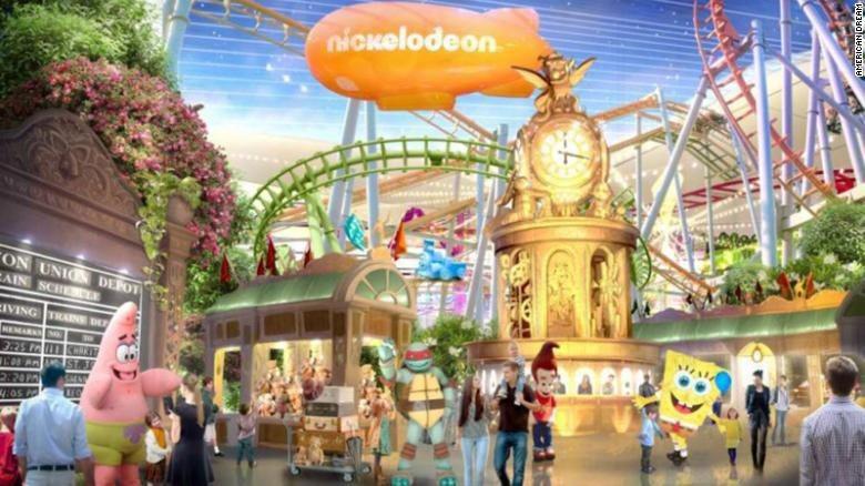 Nickelodeon Universe (Foto: CNN)