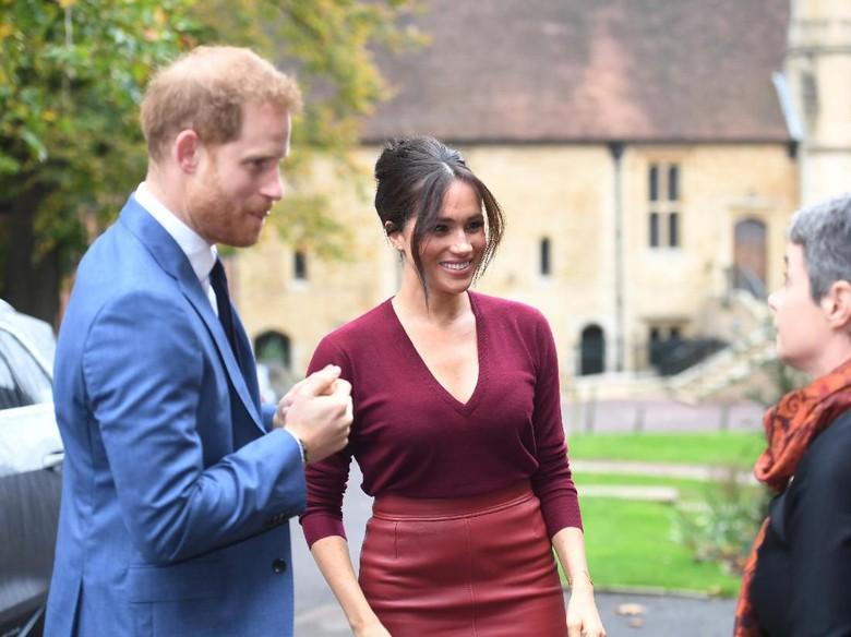 Pangeran Harry dan Meghan Markle soal isu anak kedua. Foto:Dok. Getty Images