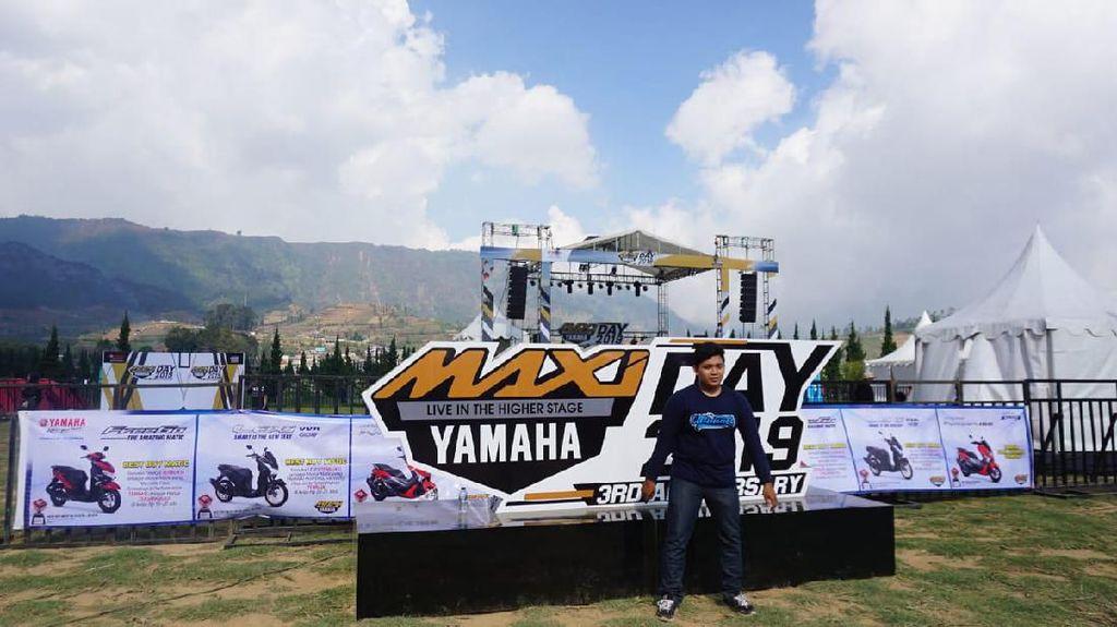 Ini Alasan Yamaha Gelar MAXI Camp di Puncak Dieng Wonosobo
