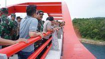 Panglima TNI-Kapolri Tinjau Jembatan Holtekamp yang Akan Diresmikan Jokowi