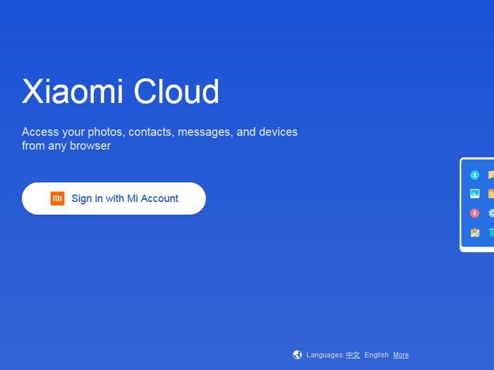 cara hapus akun mi cloud dengan mudah