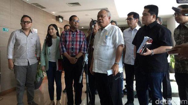 Jajaran menteri yang ditugaskan membangun 10 Bali Baru