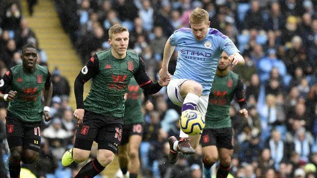 Hasil Liga Inggris: Man City