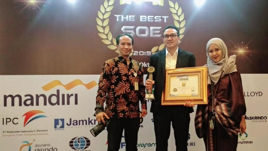 Brantas Abipraya Raih The Best SOE 2019