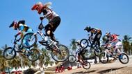 Atraksi Memukau Pesepeda BMX Kelas Dunia di Banyuwangi