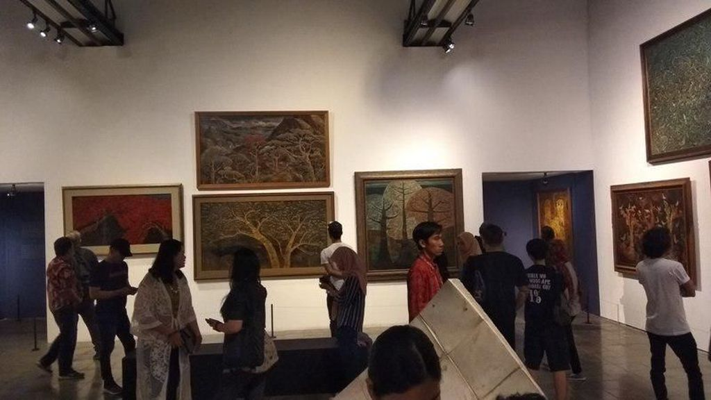 Seabad Widayat, 100 Lukisan Dipamerkan di OHD Museum Magelang