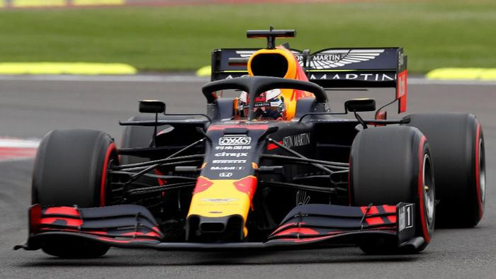Max Verstappen mengunci pole position di Grand Prix Meksiko. (Foto: Carlos Jasso/Reuters)