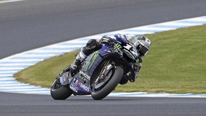 Sisa dua balapan, Maverick Vinales mau cari-cari kekurangan Yamaha (Mirco Lazzari gp/Getty Images)