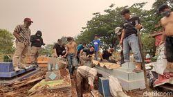 Mayat PNS di Palembang Dicor Semen, Pelaku Sempat Coba Kelabui Polisi