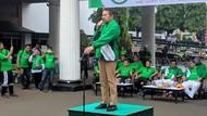 Berjaket Hijau, ST Burhanuddin Buka Acara Gowes Jaksa Agung Menyapa