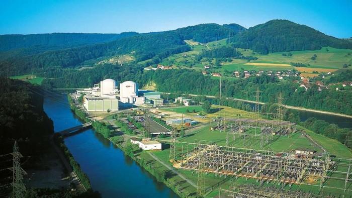 Pembangkit tenaga listrik nuklir Beznau di Swiss merupakan pembangkit tenaga nuklir tertua di dunia. Bagaimana rupanya?