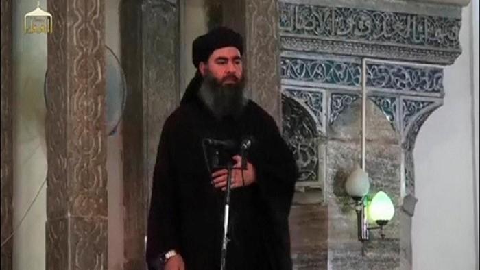 Foto: Abu Bakar Al-Baghdadi (Reuters TV/File Photo)