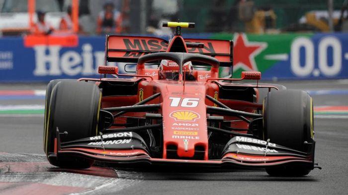 Driver Ferrari Charles Leclerc. (Foto: Luis Cortes)