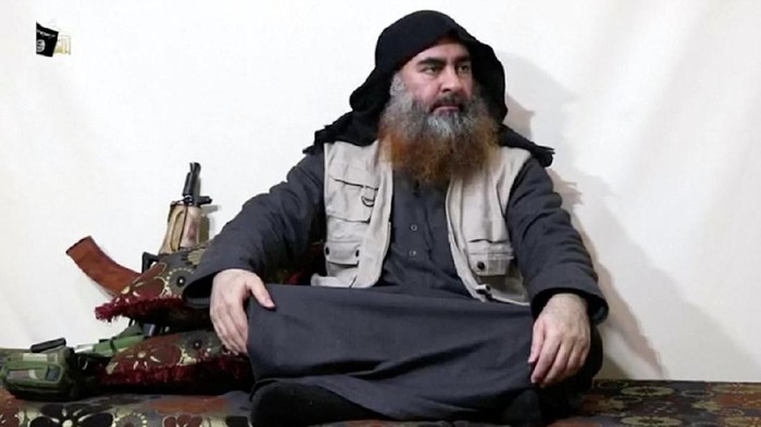 Foto: Abu Bakar Al-Baghdadi (Islamic State Group/Al Furqan Media Network/Reuters TV via REUTERS/File Photo)