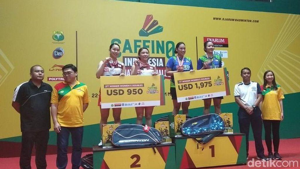 Indonesia Raih Tiga Gelar Juara di Indonesia International Challenge