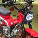 Honda CT125, Motor Bebek Baru Honda Bergaya Off-road