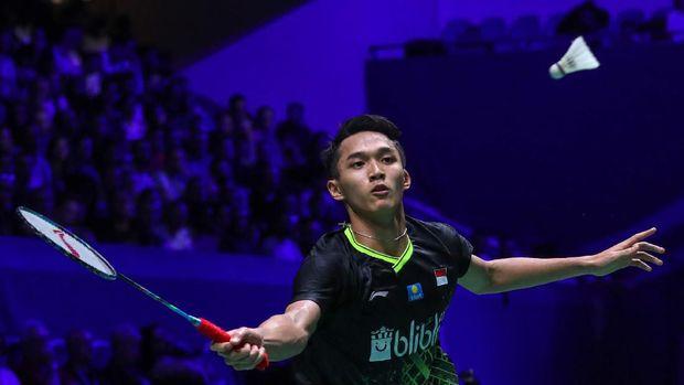 Hasil Hong Kong Open: Ginting ke Final Usai Kalahkan Jonatan