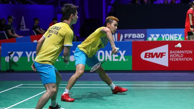 Hasil Fuzhou China Open 2019: Marcus/Kevin ke Perempat Final