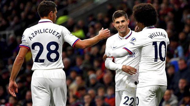 Pulisic Ukir Tiga Rekor Usai Hattrick di Chelsea