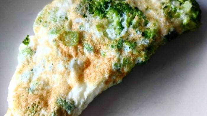 omelet brokoli buat sarapan sehat
