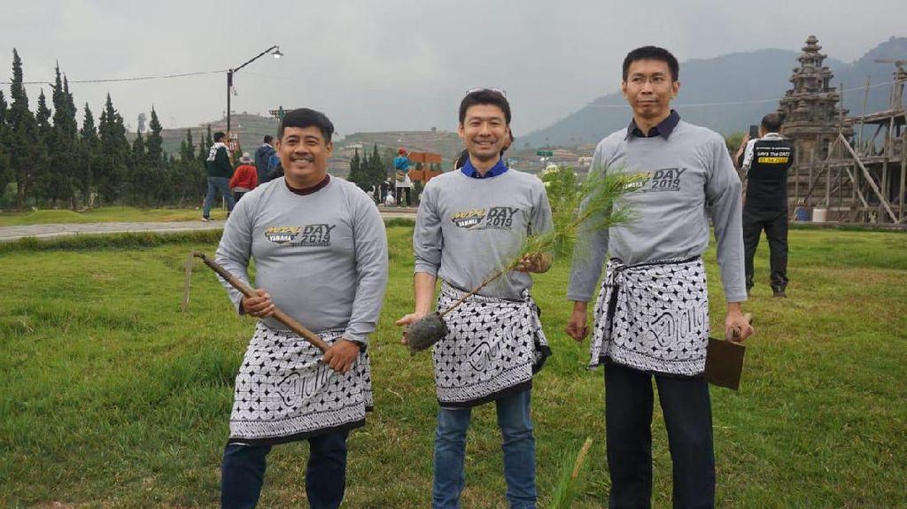 Tanam 1.000 Pohon, MAXI Yamaha Ingin Pulihkan Lingkungan Dieng