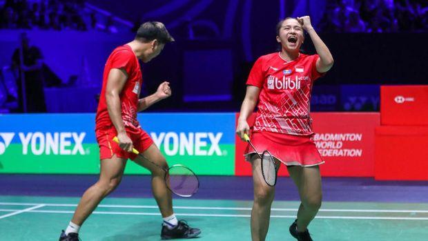Praveen/Melati akan menghadapi Zheng Siwei/Huang Yaqiong