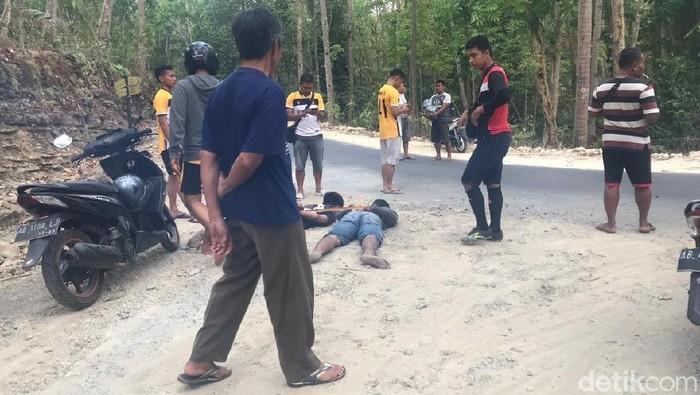 Penangkapan para napi yang berusaha kabur. -- Foto: Pradito R Pertana/detikcom
