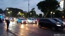 Karnaval Kendaraan Listrik Selesai, Jl Sudirman Jakarta Mulai Dibuka