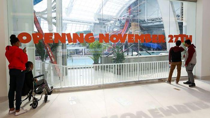 Rencananya mall ini juga akan memiliki taman bermain LEGOland, bioskop, hingga taman bermain air yang akan dibuka di bulan November. Adam Jeffery/CNBC.