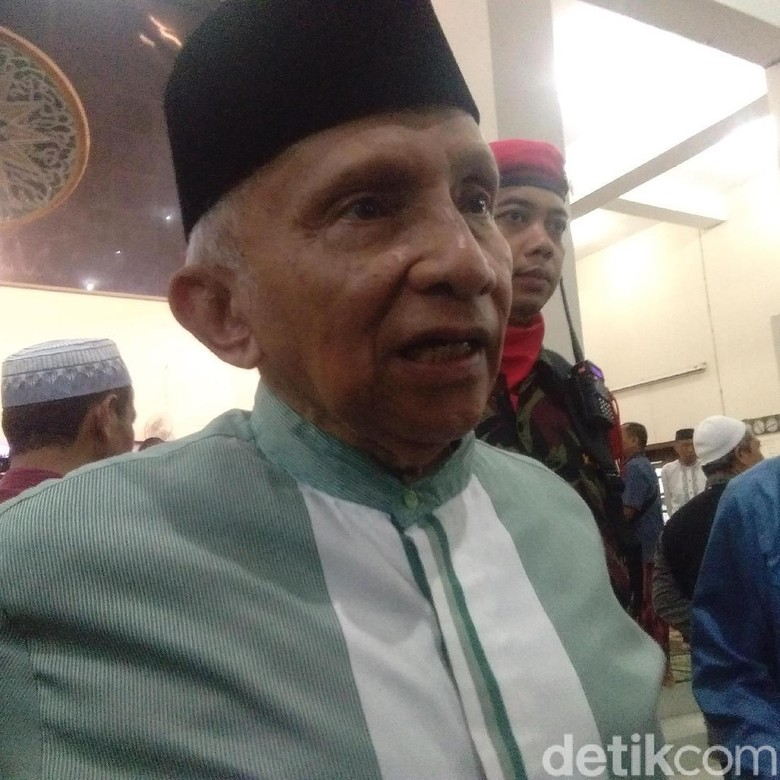 Amien Rais will do the calculations in Jok's office after 6 months