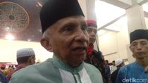 Analisis: Amien Rais Realistis Restui Prabowo Jadi Menhan