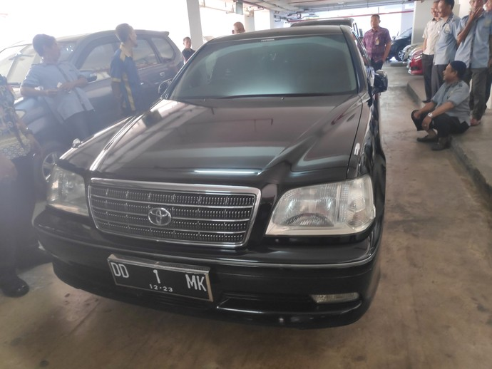 Mobil Jusuf Kalla saat Pensiun Jadi Wakil Presiden