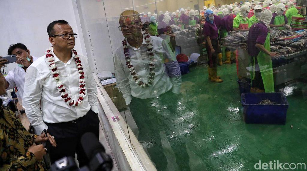 Dari Muara Angke, Edhy Prabowo Lanjut Blusukan ke Muara Baru