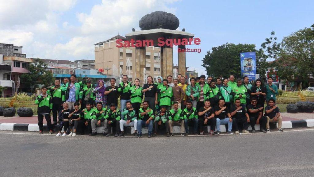 Gojek Dukung Wisata di Belitung, Jalan-jalan Bisa Pakai GoRide