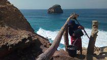 Foto: Setuju Pantai di Lombok Ini Mirip di Uluwatu?