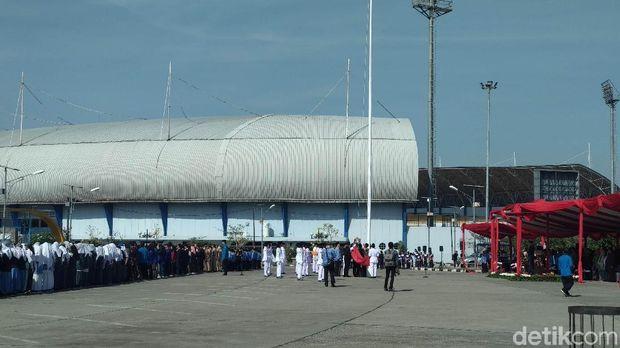 Bendera Gagal Berkibar Warnai Upacara Sumpah Pemuda Tingkat Jabar
