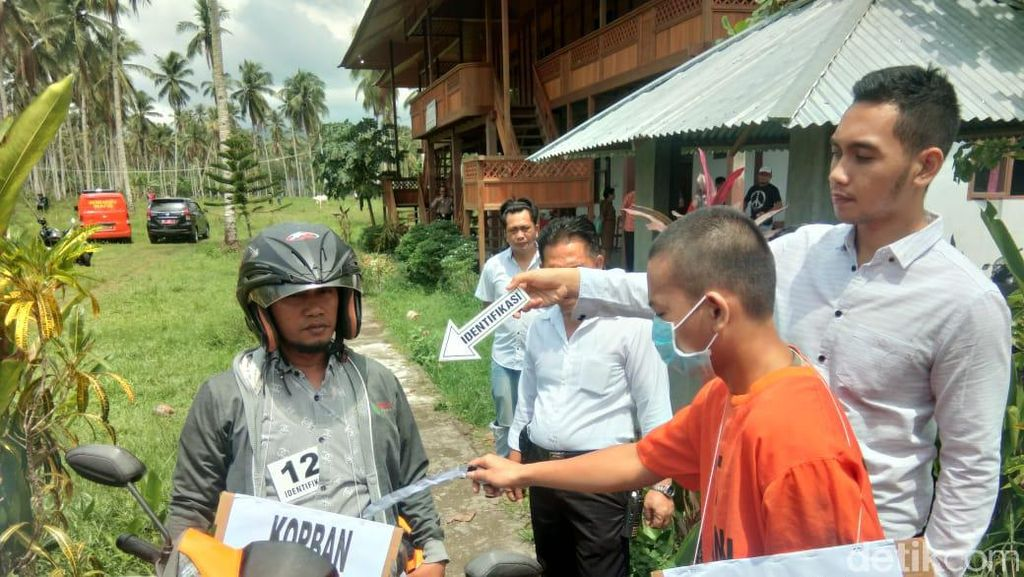 Reka Ulang, Pelajar SMK di Manado Kejar dan Tusuk Gurunya Berulang Kali
