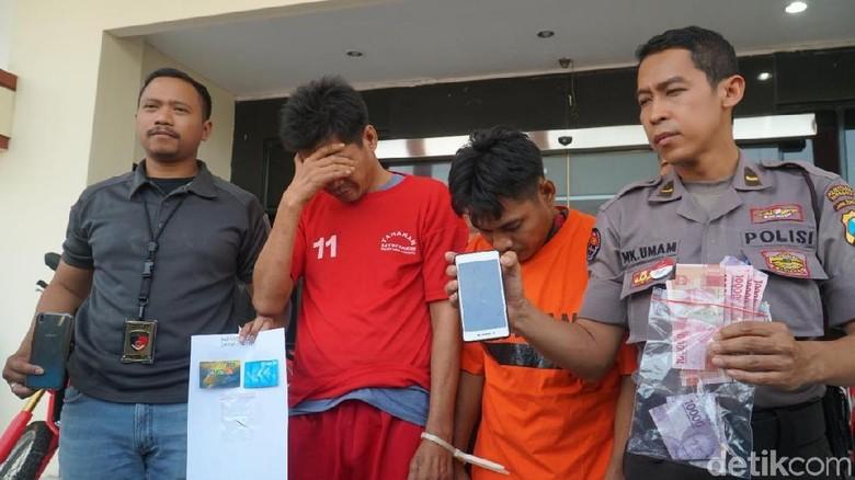 Dua Pelaku Ganjal ATM Diamankan, Kuras Duit Korban Rp 200 Juta