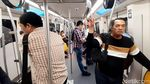 Intip Jeroan Kereta Layang Bangkok, Mirip MRT Jakarta?