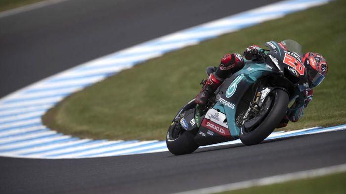 Fabio Quartararo tercepat di FP1 MotoGP Malaysia. (Foto: Mirco Lazzari gp / Getty Images)