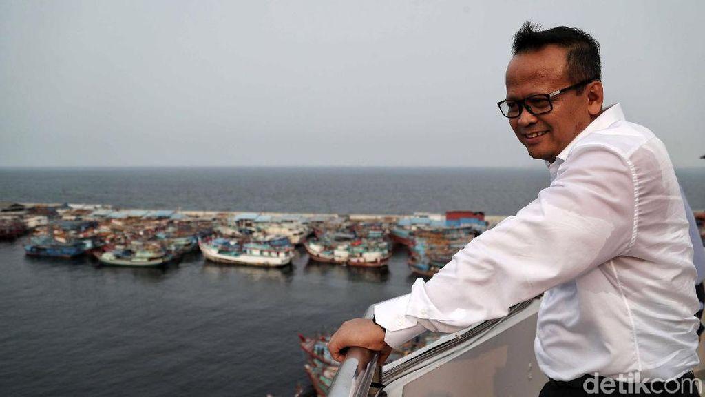Menteri Edhy Terima Keluhan Nelayan di Bangka Soal Penambangan Timah