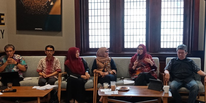 Diskusi Menjaga Kemurnian Suara Pemilih (Eva Safitri/detikcom)