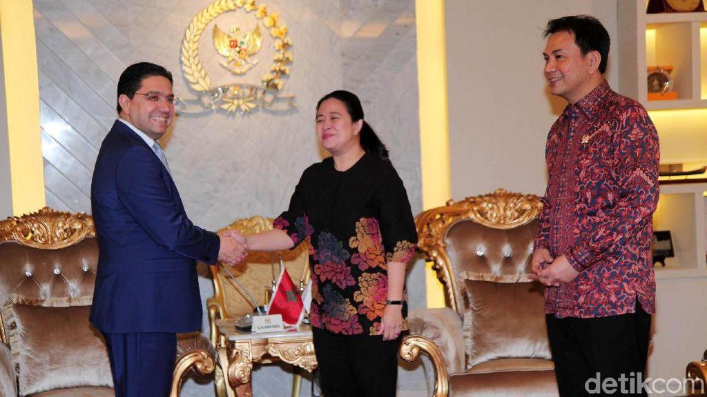 Puan Maharani Bertemu Menlu Maroko