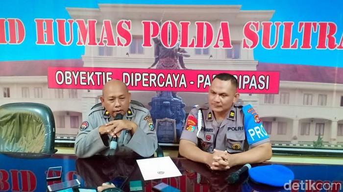 Kasubbid Penmas Bid Humas Polda Sultra Kompol Agus Mulyadi (Siti/detikcom)