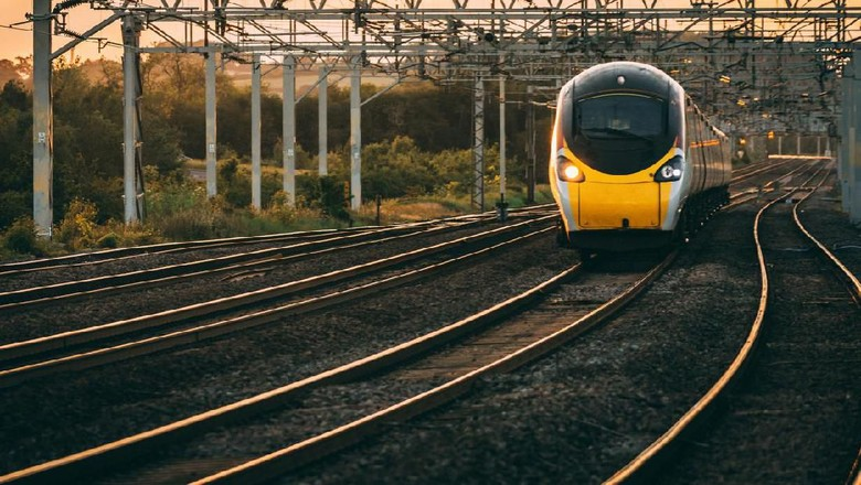 Foto: Ilustrasi kereta api(iStock)